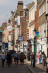 Rochester Kent. UK. Tourism The High Street.