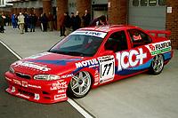 1997 British Touring Car Championship media day #77 Matt Neal (GBR). Team Dynamics. Ford Mondeo.