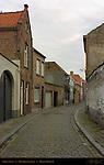 Street Scene: Timmermansstraat, Bruges, Brugge, Belgium