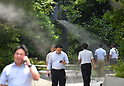 Tokyo suffers from continuous heat wave