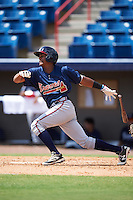 Atlanta Braves Cristian Pache (94) during an Instructional League game against the Washington Nationals on September 30, 2016 at Space Coast Stadium in Melbourne, Florida.  (Mike Janes/Four Seam Images)