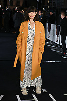 """Jasmine Helmsley<br /> arriving for the premiere of """"The White Crow"""" at the Curzon Mayfair, London<br /> <br /> ©Ash Knotek  D3488  09/03/2019"""
