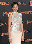 Freida Pinto  attends the Relativity World Premiere of Immortals held at The Nokia Theater Live in Los Angeles, California on November 07,2011                                                                               © 2011 DVS / Hollywood Press Agency