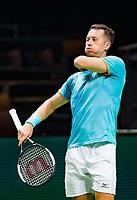Rotterdam, The Netherlands, 12 Februari 2019, ABNAMRO World Tennis Tournament, Ahoy, first round singles: Philipp Kohlschreiber (GER),<br /> Photo: www.tennisimages.com/Henk Koster