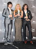 LAS VEGAS, NV, USA - APRIL 06: Neil Perry, Kimberly Perry, Reid Perry of The Band Perry in the press room at the 49th Annual Academy Of Country Music Awards held at the MGM Grand Garden Arena on April 6, 2014 in Las Vegas, Nevada, United States. (Photo by Celebrity Monitor)
