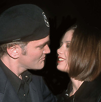 Quentin Tarantino MiraSorvino 1997<br /> Photo By John Barrett/PHOTOlink
