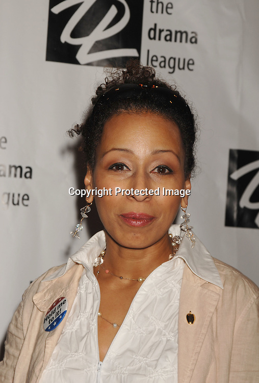 Tamara Tunie ..posing for photographers at The Drama League Awards Ceremony and Luncheon on May 11, 2007 at The Marriott Marquis Hotel. ..Robin Platzer, Twin Images