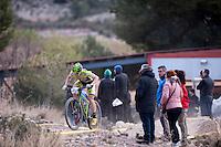 Chelva, SPAIN - MARCH 6: Pablo Egeda during Spanish Open BTT XCO on March 6, 2016 in Chelva, Spain