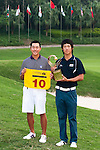 SHENZHEN, CHINA - NOVEMBER 01:  Chang-Won Han (R) and Eric Chun of South Korea pose at the end of the Asian Amateur Championship at the Mission Hills Golf Club on November 1, 2009 in Shenzhen, Guangdong, China. Chang-Won Han wins a place at the 2010 Masters Tournament and International Final Qualifying for the 150th Open Championship at St Andrews  (Photo by Victor Fraile/The Power of Sport Images) *** Local Caption *** Chang-Won Han; Eric Chun