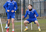 St Johnstone Training... 02.03.21<br />Liam Craig back in training ahead of tomorrow's game against Hamilton Accies after winning the BETFRED Cup on Sunday.<br />Picture by Graeme Hart.<br />Copyright Perthshire Picture Agency<br />Tel: 01738 623350  Mobile: 07990 594431