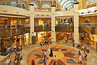 Central concourse of  Mall of the Emirates. Dubai. United Arab Emirates.
