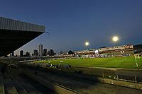 26th August 2020; Estadio Vila Capanema, Curitiba, Brazil; Copa Do Brasil, Parana Clube versus Botafogo; General view of the Vila Capanema Stadium empty due to the covid-19 pandemic