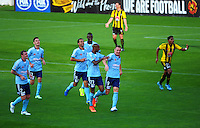 150329 A-League Football - Wellington Phoenix v Sydney FC