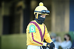 March 6, 2021: Jockey Francisco Arrieta before the Honeybee Stakes (G3) at Oaklawn Racing Casino Resort in Hot Springs, Arkansas on March 6, 2021. Justin Manning/Eclipse Sportswire/CSM