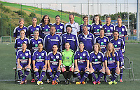 RSC Anderlecht Dames : ploegfoto <br /> foto David Catry / nikonpro.be