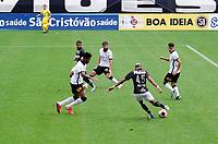 São Paulo (SP), 07/03/2021 - CORINTHIANS-PONTE PRETA - João Veras, da Ponte Preta em lance que originou o gol. Corinthians e Ponte Preta partida válida pela terceira rodada do Campeonato Paulista 2021, na Neo Química Arena, neste domingo (07).