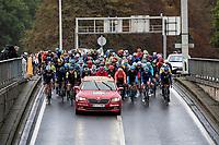 neutralised section<br /> <br /> 106th Liège-Bastogne-Liège 2020 (1.UWT)<br /> 1 day race from Liège to Liège (257km)<br /> <br /> ©kramon