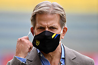 Parma calcio 1913 president Kyle Krause wears a mask prior to the Serie A football match between Parma Calcio 1913 and SSC Napoli at Ennio Tardini stadium in Parma (Italy), September 20th, 2020. Photo Andrea Staccioli / Insidefoto