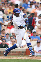 June 18th 2007:  Alfonso Soriano of the Chicago Cubs during a game at Wrigley Field in Chicago, IL.  Photo by:  Mike Janes/Four Seam Images