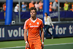 The Hague, Netherlands, June 15: Jelle Galema #20 of The Netherlands looks disappointed after the field hockey gold match (Men) between Australia and The Netherlands on June 15, 2014 during the World Cup 2014 at Kyocera Stadium in The Hague, Netherlands. Final score 6-1 (2-1)  (Photo by Dirk Markgraf / www.265-images.com) *** Local caption ***