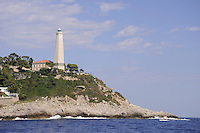 - France, French Riviera, the Cap Ferrat lighthouse<br /> <br /> - Francia, Costa Azzurra, il faro di Cap Ferrat