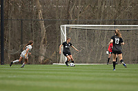 LOUISVILLE, KY - MARCH 13: Nealy Martin #36 of Racing Louisville FC dribbles the ball during a game between West Virginia University and Racing Louisville FC at Thurman Hutchins Park on March 13, 2021 in Louisville, Kentucky.