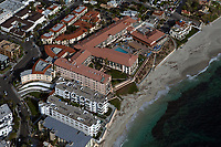 aerial photograph of White Sands and Marine State Beach, La Jolla, San Diego, County, California