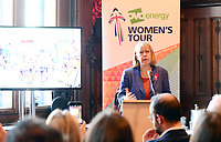 Picture by SWpix.com - 07/03/2018 - Cycling - 2018 OVO Energy Women's Tour Launch - Westminster, London, England - Ruth Cadbury MP