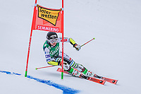 28th December 2020; Semmering, Austria; FIS Womens Giant Slalom World Cu Skiing; Tina Robnik of Slovenia in action during her 1st run of women Giant Slalom of FIS ski alpine world cup at the Panoramapiste in Semmering