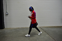 Atlanta, GA - Sunday Sept. 18, 2016: Crystal Dunn prior to a international friendly match between United States (USA) and Netherlands (NED) at Georgia Dome.
