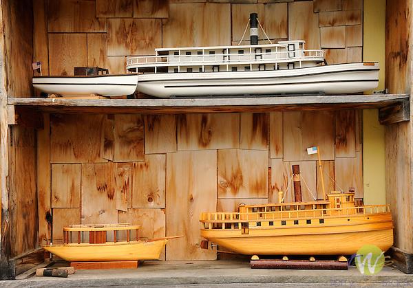 Ship Shape, Peter Templeton, model boat builder, .Greenville, ME. Shop and models.