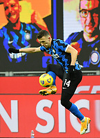 Football Soccer: Tim Cup Quarter Finals InternazionaleMIlan vs Milan, Giuseppe Meazza Stadium (San Siro) Milan, on January 26, 2021.<br /> Inter's Ivan Perisic  in action during the Italian Tim Cup football match between Inter  and Milan at the Giuseppe Meazza stadium in Milan, January 26, 2021.<br /> UPDATE IMAGES PRESS/Isabella Bonotto