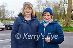 Enjoying a stroll in the Listowel town park on Friday, l to r: Kitty McElligott and Mary Joy