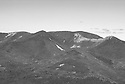 """The rugged, rocky Bonds are well seen from the """"Downlook"""", an outstanding outlook in New Hampshires White Mountains."""