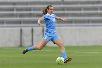 Chicago, IL - Saturday July 30, 2016: Katie Naughton during a regular season National Women's Soccer League (NWSL) match between the Chicago Red Stars and FC Kansas City at Toyota Park.