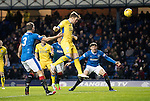 Rangers v St Johnstone…01.03.17     SPFL    Ibrox<br />Liam Craig misses the target with his header<br />Picture by Graeme Hart.<br />Copyright Perthshire Picture Agency<br />Tel: 01738 623350  Mobile: 07990 594431