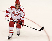 Doyle Somerby (BU - 27) - The visiting Merrimack College Warriors defeated the Boston University Terriers 4-1 to complete a regular season sweep on Friday, January 27, 2017, at Agganis Arena in Boston, Massachusetts.The visiting Merrimack College Warriors defeated the Boston University Terriers 4-1 to complete a regular season sweep on Friday, January 27, 2017, at Agganis Arena in Boston, Massachusetts.