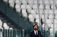 Calcio, Serie A: Juventus FC - S.S.Lazio, Turin, Allianz Stadium, March 6, 2021.<br /> Juventus' coach Andrea Pirlo speaks to his players during the Italian Serie A football match between Juventus and Lazio at the Allianz stadium in Turin, on March 6, 2021.<br /> UPDATE IMAGES PRESS/Isabella Bonotto