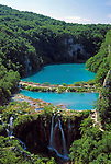 Kroatien, Krbava, Plitvicka Nationalpark: Wasserfall | Croatia, Krbava, Plitvicka Nationalpark: Waterfall