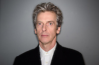 Peter Capaldi Dr Who signing