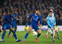 Chelsea's Ruben Loftus-Cheek during the UEFA Europa League match between Chelsea and Malmo at Stamford Bridge, London, England on 21 February 2019. Photo by Andrew Aleksiejczuk / PRiME Media Images.