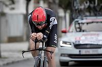 Tim Wellens (BEL/Lotto-Soudal)<br /> <br /> Final stage 7 (ITT) from San Benedetto del Tronto to San Benedetto del Tronto (10.1km)<br /> <br /> 56th Tirreno-Adriatico 2021 (2.UWT) <br /> <br /> ©kramon
