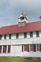 Old Seedhouse farm barn, Fordhook Farm, W. Atlee Burpee, Doylestown, PA . Board and batten door