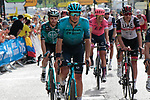 Jakob Fuglsang (DEN) Astana-Premier Tech crosses the finish line at the end of Stage 15 of the 2021 Tour de France, running 191.3km from Céret to Andorre-La-Vieille, Andorra. 11th July 2021.  <br /> Picture: Colin Flockton | Cyclefile<br /> <br /> All photos usage must carry mandatory copyright credit (© Cyclefile | Colin Flockton)