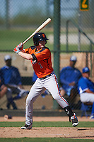 San Francisco Giants Tyler Brown (1) during an instructional league game against the Kansas City Royals on October 23, 2015 at the Papago Baseball Facility in Phoenix, Arizona.  (Mike Janes/Four Seam Images)