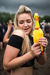 © Joel Goodman - 07973 332324 . . 12/06/2016 . Manchester , UK . Reveller at the Parklife music festival at Heaton Park in Manchester . Photo credit : Joel Goodman