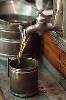 Europe/France/Provence-Alpes-Côte d'Azur/06/Alpes-Maritimes/Nice: Préparation de l'huile d'olives Alziari
