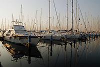 - tourist harbor of Marina di Ravenna..- porto turistico di Marina di Ravenna.