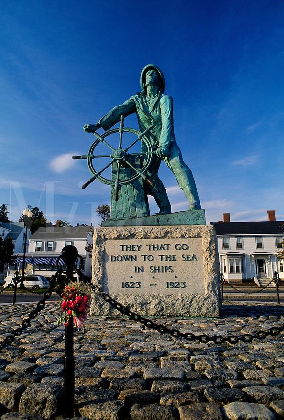 Fisherman's Memorial Statue; Gloucester, Massachusette