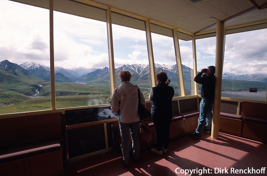 USA, Alaska, Eielson Visitor Center im Denali Nationalpark